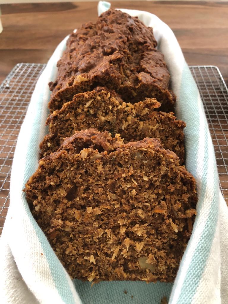 Buckwheat Carrot Loaf